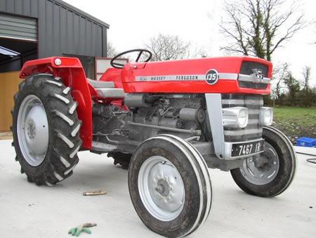 massey ferguson 135 tractors. Black Bedroom Furniture Sets. Home Design Ideas