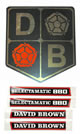 Decals and badges for DB880